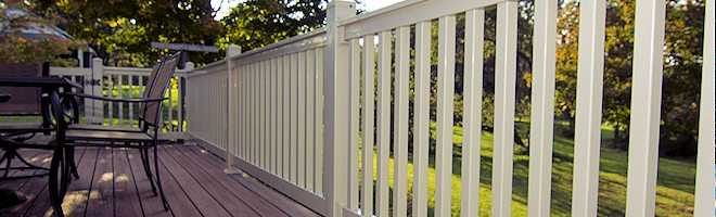 Vinyl Porch Rail