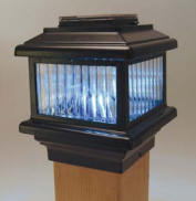 Polaris Tall Solar Light - Black