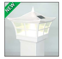Ambience Solar Light - White