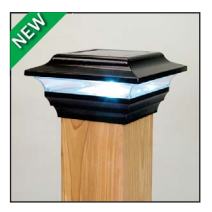 Imperial Solar Light - Black