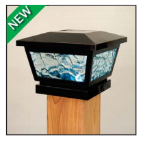 Fairmont Solar Light - Black