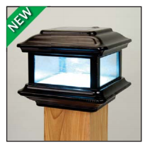 Colonial Solar Light - Black