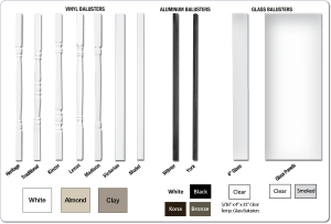 Baluster Options