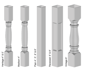 Newel Post Options